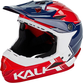 Kali Zoka Casque Homme, red/blue/white
